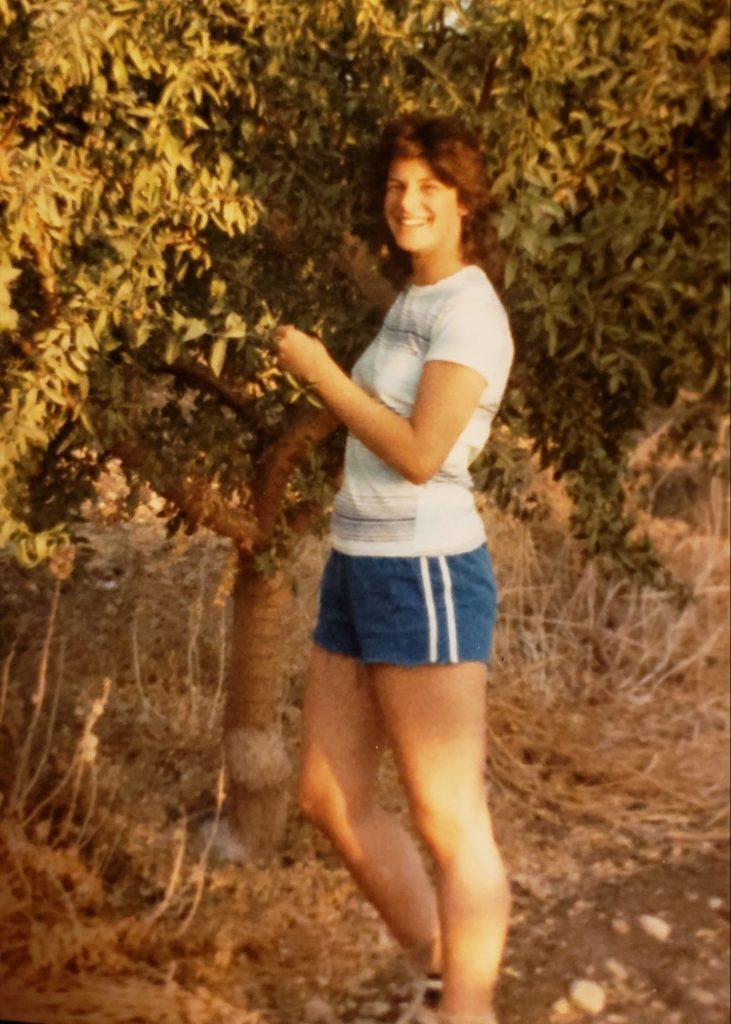 Sarah at Kibbutz Nachshon